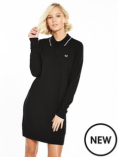 fred-perry-fred-perry-knitted-dress