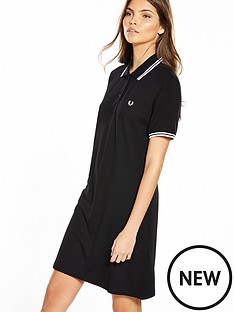 fred-perry-twin-tipped-dress-blackwhite