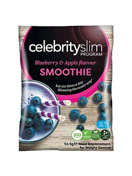 Celebrity Slim Blueberry & Apple Smoothies (14 Sachets)