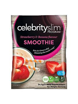Celebrity Slim Celebrity Slim Strawberry & Banana Smoothies (14 Sachets) Picture