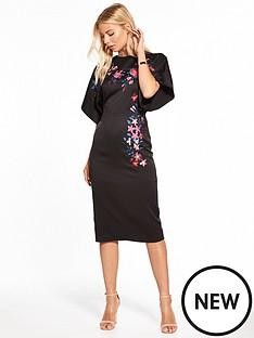 v-by-very-embroidered-kimono-dress