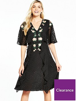 v-by-very-embroidered-jacquardnbspdress
