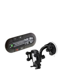 Supertooth Buddy HandsFree Bluetooth Visor CarKit And InCar Holder  Union Jack Design