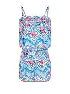 monsoon-flamingo-tribal-playsuit