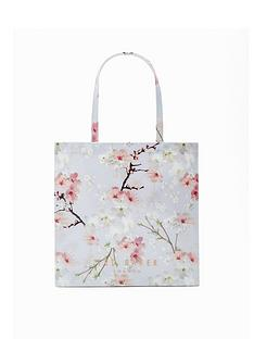 ted-baker-oriental-blossom-large-icon-bag-light-grey