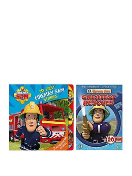 Fireman Sam My First Fireman Sam Stories &Amp Dvd Set