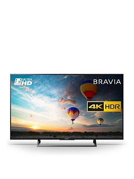 Sony Bravia Kd49Xe8004Bu 49 Inch 4K Hdr  Youview Android Tv  Black