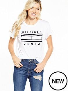hilfiger-denim-ss-logot-shirt