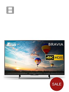 sony-bravia-kd43xe8004-43-inch-4k-hdr-ultra-hd-smart-android-tvtrade-with-youview-and-freeview-hd-black