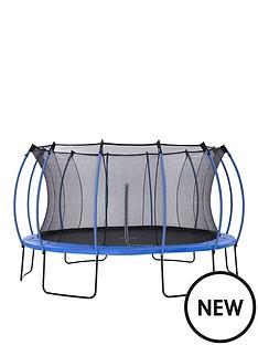 plum-colours-by-plum-14ft-trampoline-amp-enclosure-reversible-blue-amp-lime
