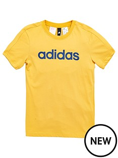 adidas-older-boys-linear-tee