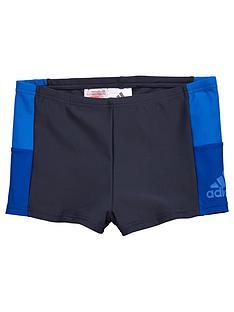 adidas-adidas-older-boys-colour-block-swim-trunk