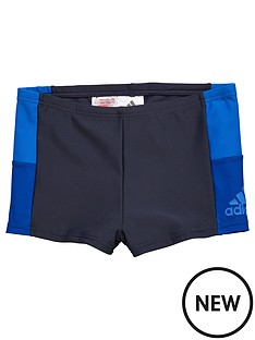 adidas-adidas-older-boys-colour-block-swim-trunk