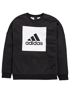 adidas-older-boys-logo-sweat