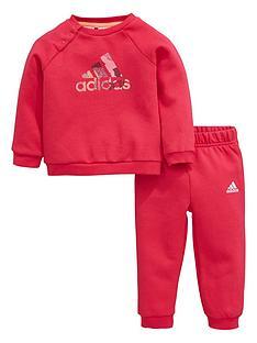 adidas-baby-girl-logo-crewjog-suit