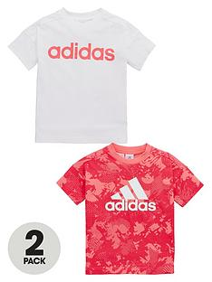 adidas-toddler-girls-pk-2-tees