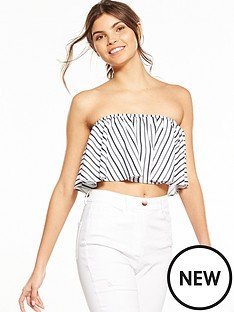 fashion-union-jassamy-bardot-frill-stripe-top