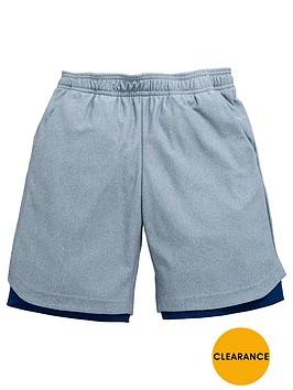 adidas-older-boys-id-double-layer-short