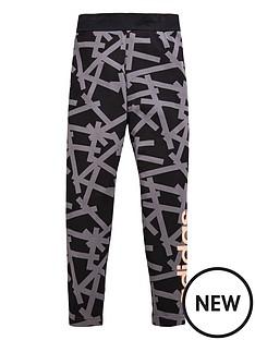 adidas-older-girls-linear-print-legging
