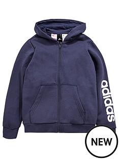 adidas-older-boys-linear-fz-hoody