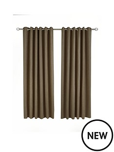 made-to-measure-faux-suede-eyelet-curtains-ndash-chocolate
