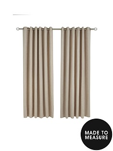 made-to-measure-faux-suede-eyelet-curtains-ndash-natural