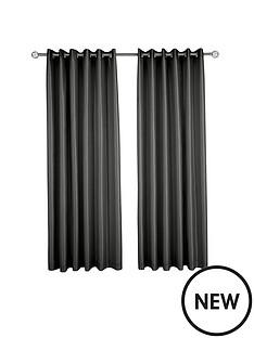 made-to-measure-faux-silk-eyelet-curtains-ndash-black