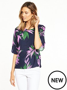 warehouse-graphic-palm-print-top