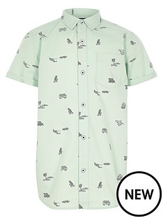 river-island-boys-conversational-print-short-sleeve-shirt