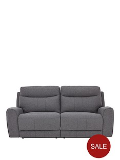 violino-rossi-3-seaternbspfabric-manual-recliner-sofa