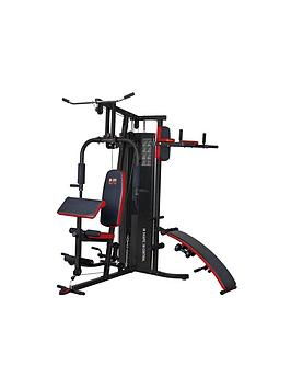 Body Sculpture 66Kg Multi Gym With Sit Up Bench And Leg Raise
