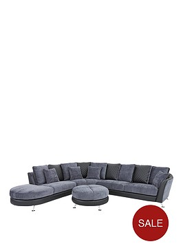 liaison-leather-and-fabric-left-hand-chaise-sofa-with-footstool