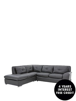 quatro-premium-leather-left-hand-corner-chaise-sofa