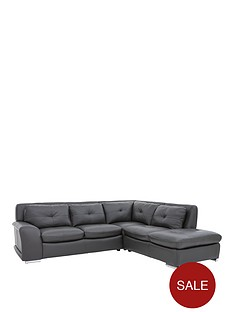 quatronbsppremium-leather-right-hand-corner-chaise-sofa