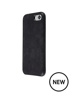 foxwood-stylish-and-protective-hardshell-case-made-with-genuine-leather-for-apple-iphone-7-black