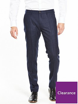 tommy-hilfiger-wool-check-suit-trouser-navy
