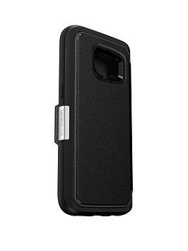 Otterbox Samsung Gs7 Otterbox Strada Case  Phantom Black (Black)