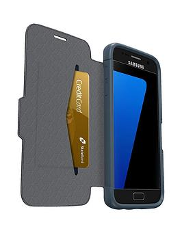 Otterbox Samsung Gs7 Otterbox Strada Case  Night Cannonball Blue (Blue)