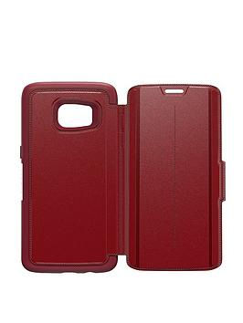 Otterbox Samsung Gs7 Otterbox Strada Case  Ruby Romance Red (Red)
