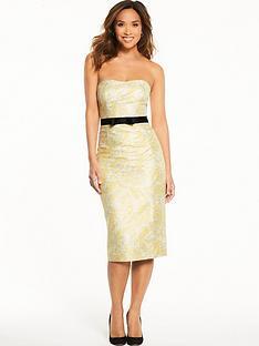 myleene-klass-jacquard-fitted-pencil-dress