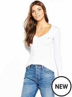 hilfiger-denim-hilfiger-denim-original-henley-ls-t-shirt