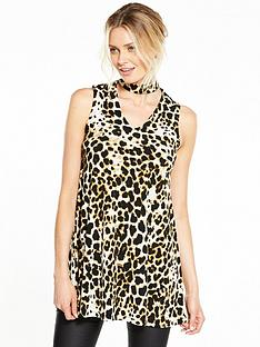 v-by-very-choker-animal-print-tunic