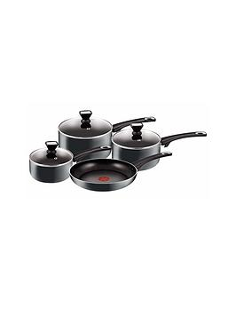 Tefal Jamie Oliver 4 Piece Pan Set  Black