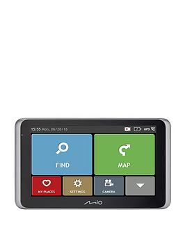 Mio Mivue Drive 65 Lm Sat Nav &Amp Dash Cam  Full Europe Lm (Weu)