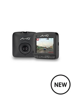 mio-mivue-c310-dash-cam-with-720p-hd-3-axis-g-sensor-23-inch-lcd-screen