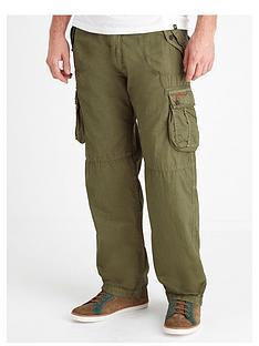 joe-browns-khaki-cargo-pants