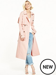 river-island-pink-trench-coat