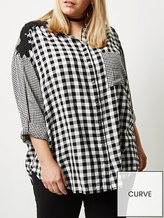 ri-plus-gingham-oversized-shirt