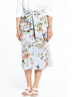 river-island-bird-print-skirt