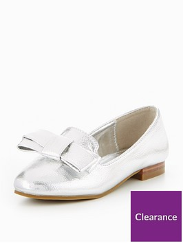 v-by-very-fifi-bow-metallic-loafer